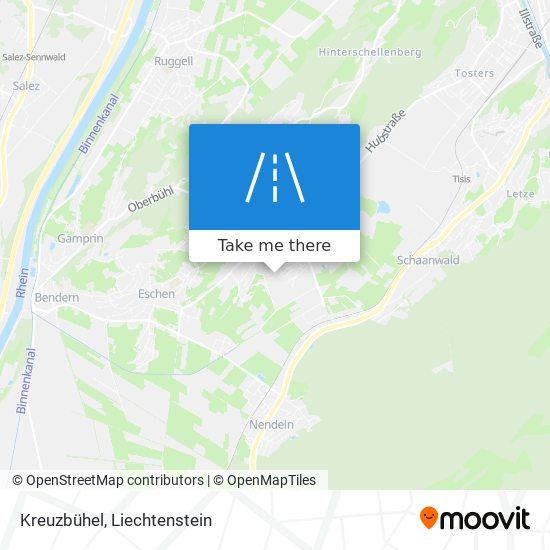 Kreuzbühel map