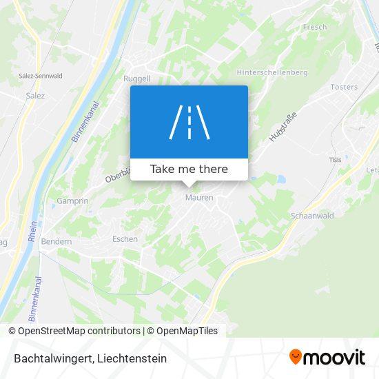 Bachtalwingert map