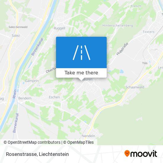 Rosenstrasse map