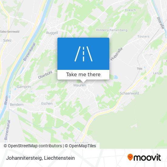 Johannitersteig map