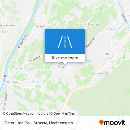 Peter- Und Paul-Strasse map