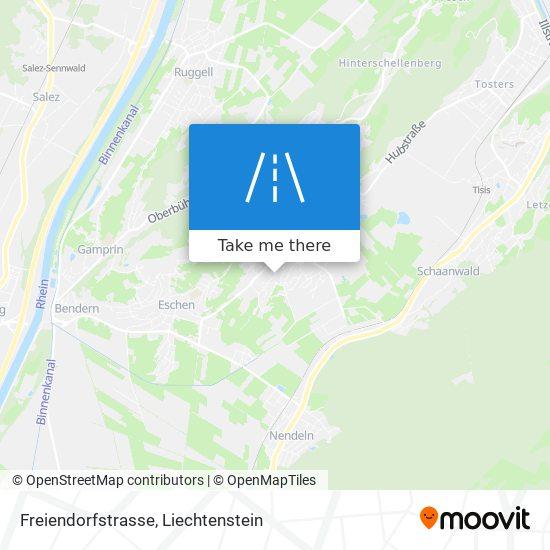 Freiendorfstrasse map