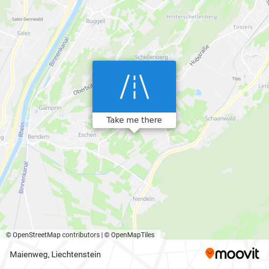 Maienweg map