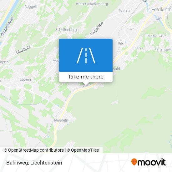 Bahnweg map