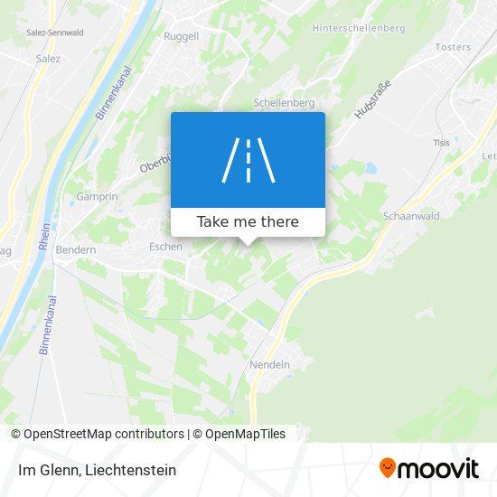 Im Glenn map