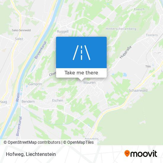Hofweg map