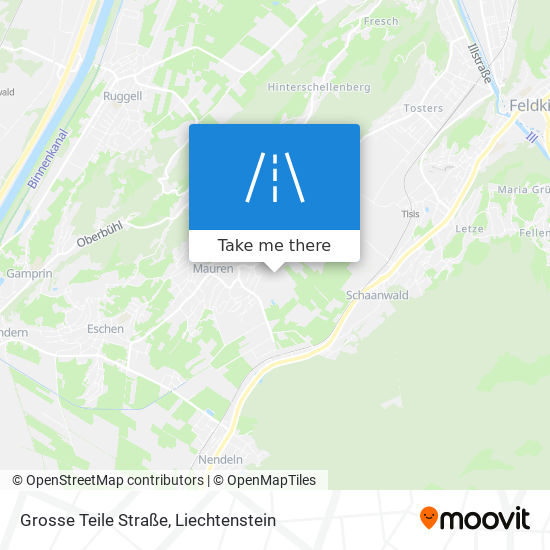 Grosse Teile Straße map