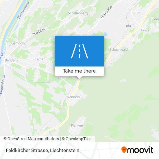 Feldkircher Strasse map