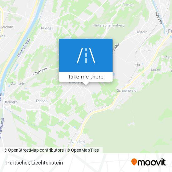 Purtscher map