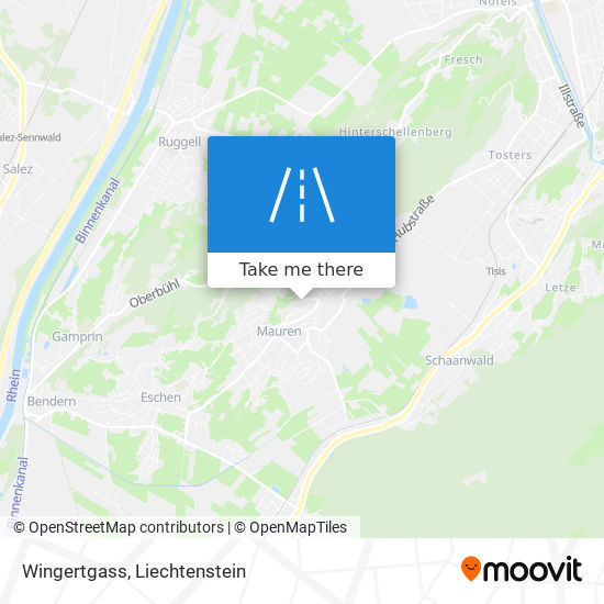 Wingertgass map