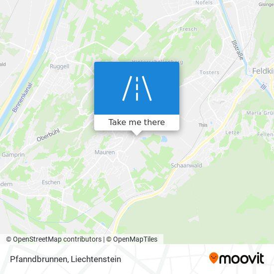 Pfanndbrunnen map