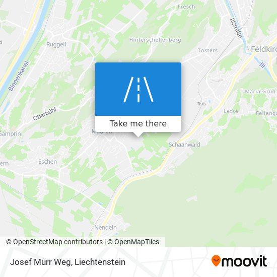 Josef Murr Weg map