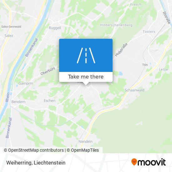 Weiherring map