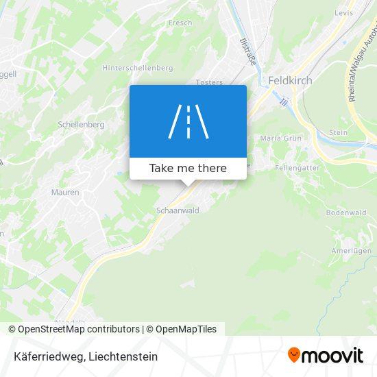 Käferriedweg map