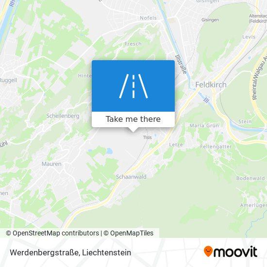 Werdenbergstraße map