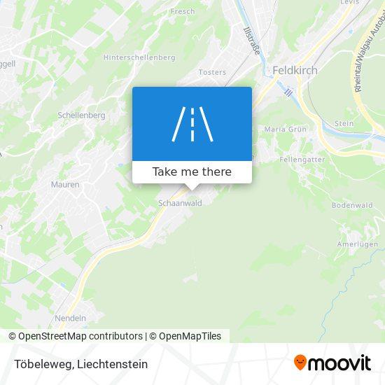 Töbeleweg map