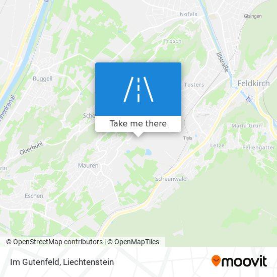 Im Gutenfeld map