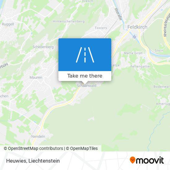 Heuwies map