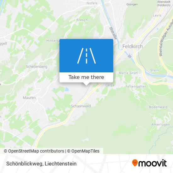 Schönblickweg map