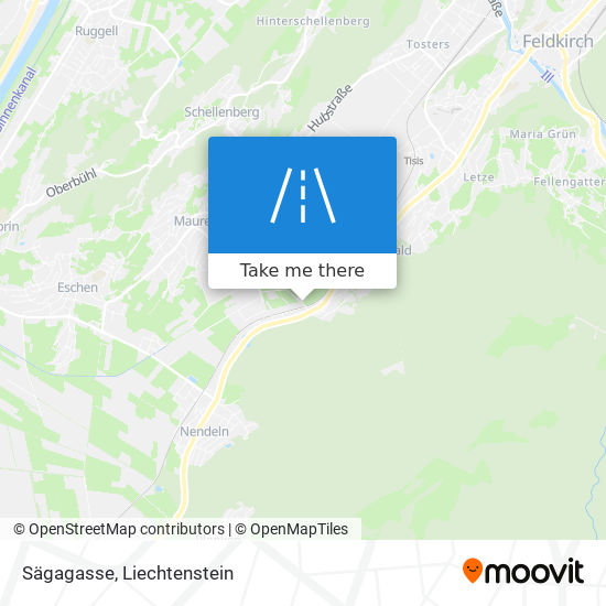 Sägagasse map