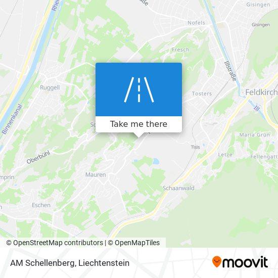 AM Schellenberg map