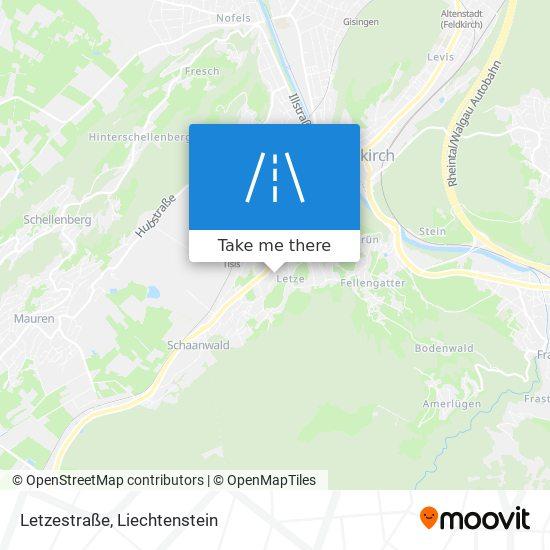 Letzestraße map