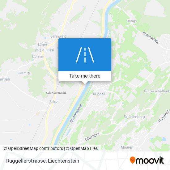 Ruggellerstrasse map