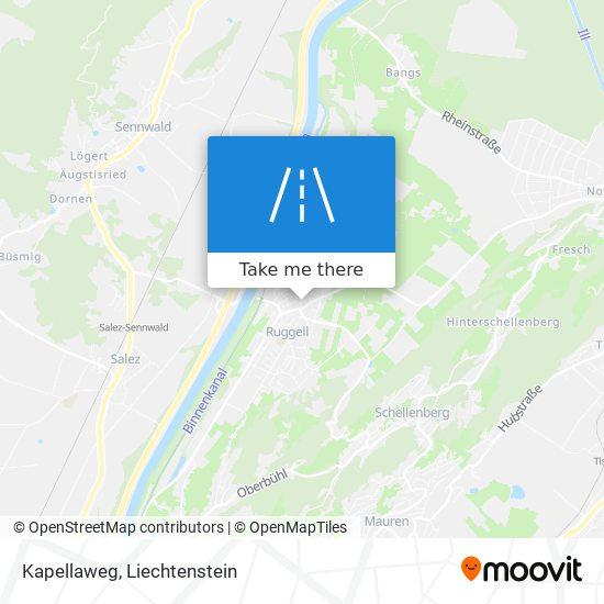 Kapellaweg map