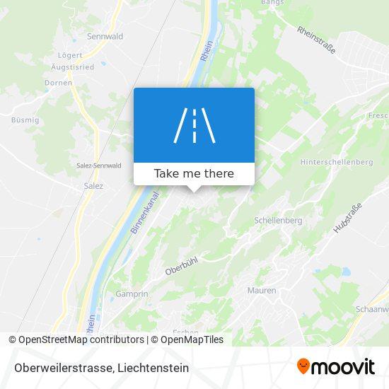 Oberweilerstrasse map