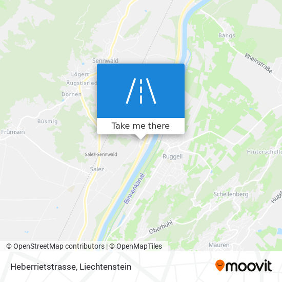 Heberrietstrasse map
