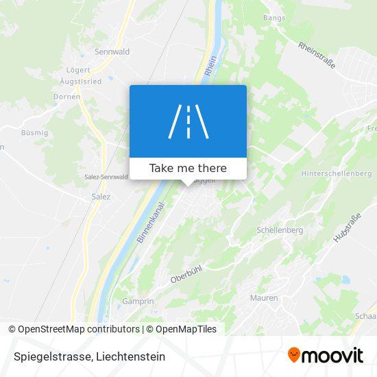 Spiegelstrasse map