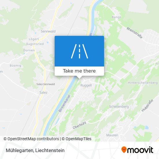 Mühlegarten map