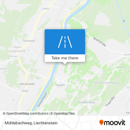 Mühlebachweg map