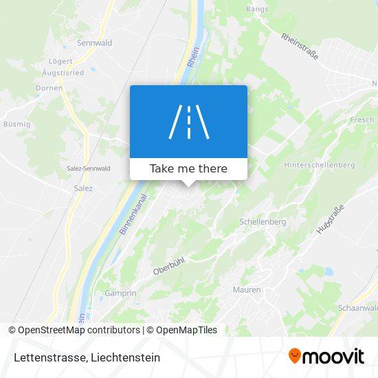 Lettenstrasse map
