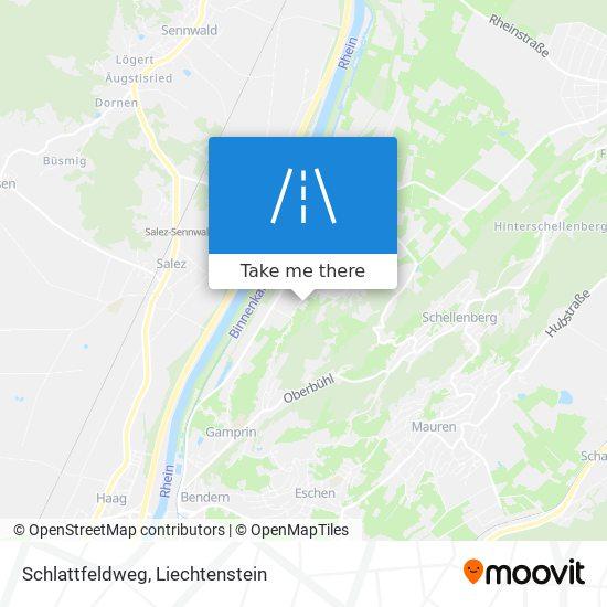 Schlattfeldweg map