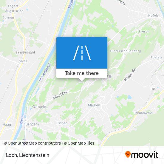Loch map