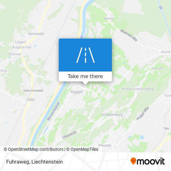 Fuhraweg map