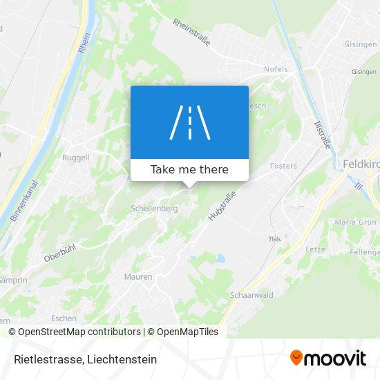 Rietlestrasse map
