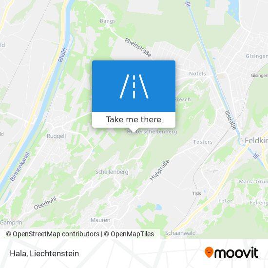 Hala map