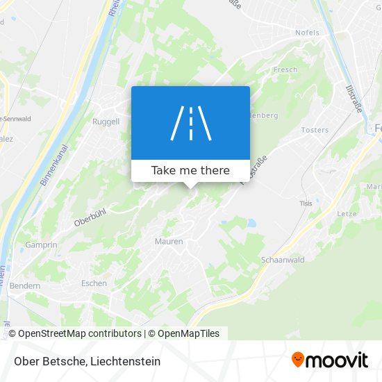 Ober Betsche map