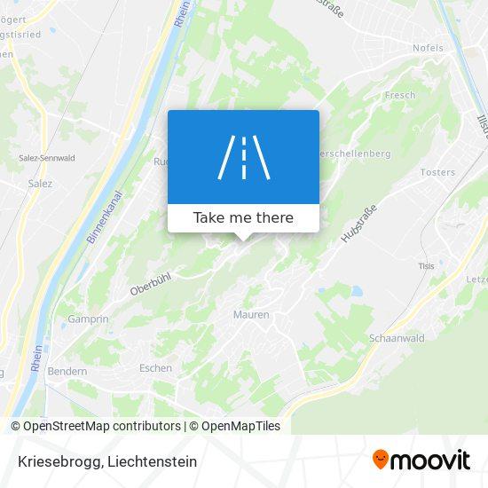 Kriesebrogg map