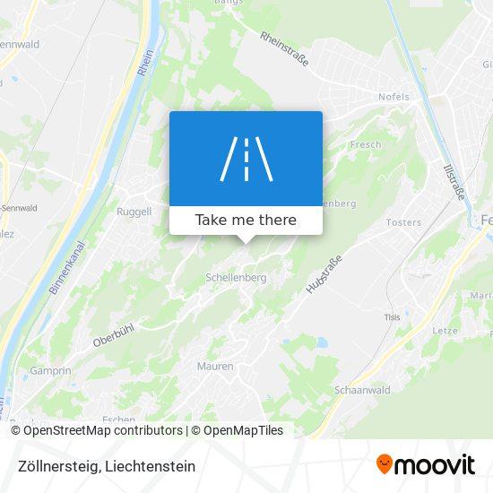 Zöllnersteig map