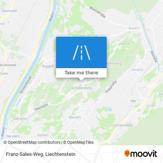 Franz-Sales-Weg map