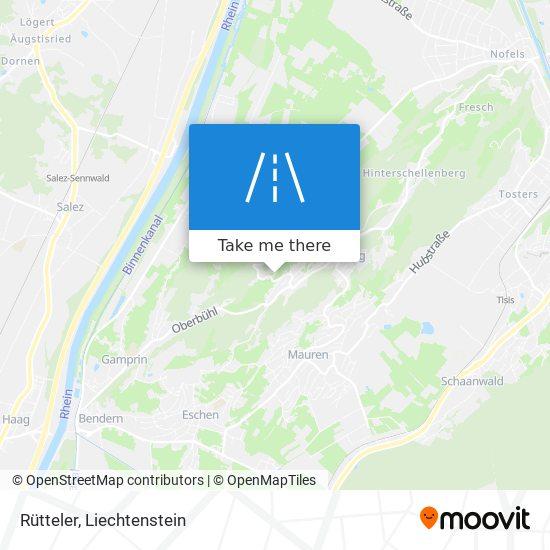 Rütteler map