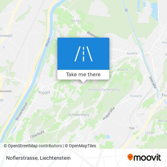Noflerstrasse map