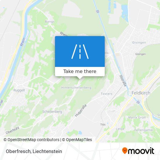 Oberfresch map