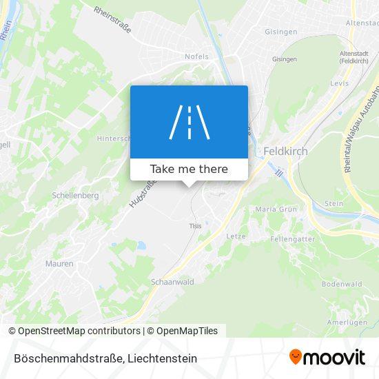 Böschenmahdstraße map