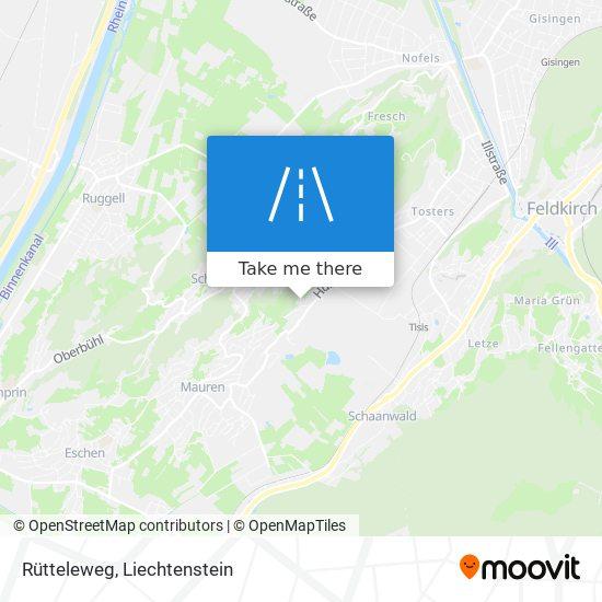 Rütteleweg map