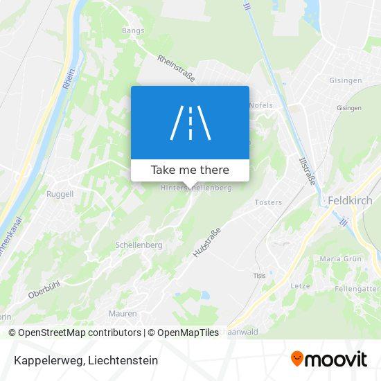 Kappelerweg map