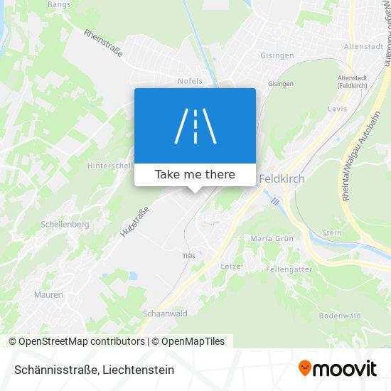 Schännisstraße map